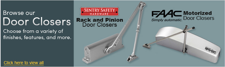 Shop Exit Door Accessories